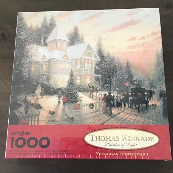 Springbok Thomas Kinkade 1000 Piece Puzzle